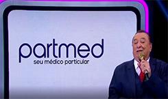 Apresentador Raul Gil fala sobre atendimento da PartMed
